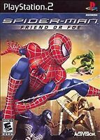 Spider-Man: Friend or Foe  (Sony PlayStation 2, 2007) PS2 Complete