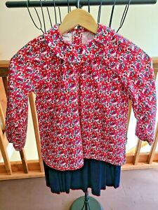 Petit Peony Girls Size 10 Outfit Set Corduroy Skirt and Long Sleeved Top NWT $84