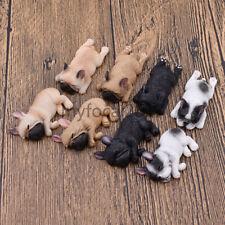 Fridge Magnetic Sticker Cute Sleeping French Bulldog Pet Home Decoration 1Pc