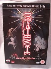 DEATH NOTE DVDs The Complete Series Manga Anime Episodes 1-37 on 9 Discs