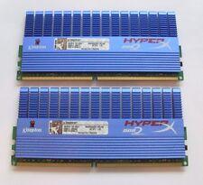 4GB (2 X 2 GB MATCHED PAIR) KINGSTON HYPERX DDR2-1066 PC2-8500 240 PIN RAM