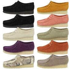 Clarks Wallabee Women Schuhe Damen Originals Halbschuhe Schnürschuhe Mokassin