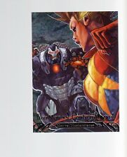 2018 Marvel Masterpieces Battle Spectra BS-13 Iron Man vs Captain Marvel card