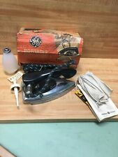 GE Vintage Portable Spray, Steam And Dry Iron, F47, IOB Complete