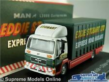 EDDIE STOBART MAN L2000 MODEL LORRY TRUCK 1:76 SCALE ATLAS OXFORD CHINA F1460 K8