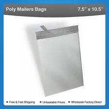"3000 bags 7.5"" x 10.5"" Self-Seal Poly Mailer Bags #906-3000"