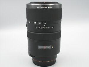 Sony G Series 70-300mm f/4.5-5.6 SSM G Lens A Mount