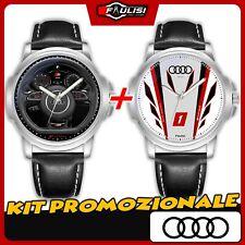X 2 Orologi da Polso Kit Promozionale per Fan Audi Sport S RS Racing LMS Cup S3