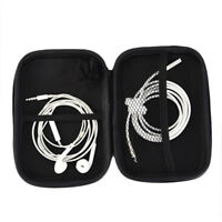 Storage Bag Portable Hard Hold Case For Headphone Earphone Earbuds Mp3 Cable C