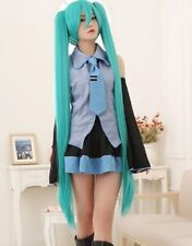 2018 New Vocaloid Hatsune Miku Show Anime Costume Cosplay Party wigs