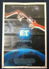 E.T. The Extra -Terrestrial ORIGINAL AUSTRALIAN ONE SHEET MOVIE POSTER 1982
