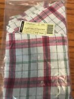 Longaberger 2013 PLAID TIDINGS Customer Christmas Collection Liner New