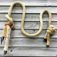 Weathered MAINE Lobster Trap Fishing Boat NAUTICAL Pier Mooring Anchor ROPE