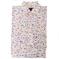 Duchamp of London Petit Floral Print Shirt, Petal