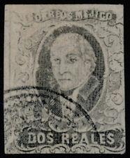 zo26 Mexico #8c 2R (Apam) Sz 24 w/o district name Est $60-100 Beautiful Example