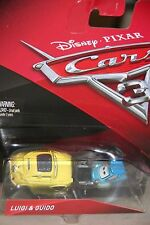 "DISNEY PIXAR CARS 3""LUIGI & GUIDO"" NEW IN PACKAGE, SHIP WORLDWIDE"