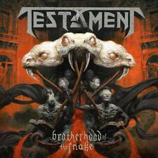 TESTAMENT - BROTHERHOOD OF THE SNAKE - CD NEW SEALED 2016 JEWELCASE