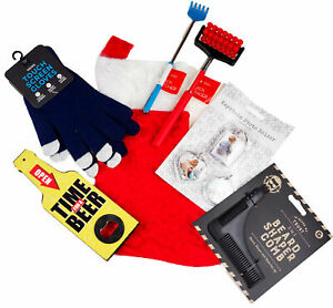 Men's Pre Filled Christmas Stocking Stuffed With 6 Gifts