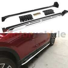US Stock Side Step For Mazda CX-5 CX5 2017-2021 Running Board Nerf Bar Aluminum