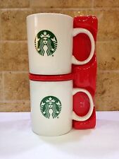 Starbucks 2016 Coffee Mug Gift Set 12 oz Ceramic Mermaid Logo