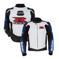 Suzuki GSXR Motorcycle Leather Jacket Sports Rider Motorbike Leather Jackets