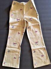 Gymboree Indian Summer Size 7 Girls Moleskin Pants Bottoms Vintage NWT Twins FS