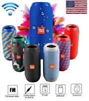 Bluetooth Speaker Wireless Waterproof Outdoor Super Bass USB/TF/FM Radio LOUD