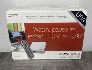 Hauppauge WinTV-HVR-1950 USB HDTV Tuner/DVR Model 1192