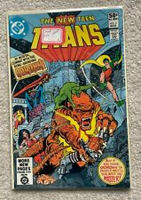 The New Teen Titans #5 Mortal Combat with Goronn