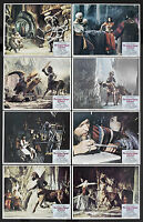 THE GOLDEN VOYAGE OF SINBAD 11x14 lobby card set RAY HARRYHAUSEN/CAROLINE MUNRO