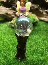 Miniature Dollhouse Fairy Garden Ivy Gazing Ball
