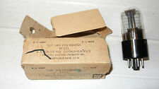 1 TUBE SYLVANIA JAN-CHS-6SN7GT / VT231 OLD STOCK DATE 12-1944 US NAVY