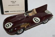 WESTERN MODELS 1/43 WRK28 - 1953 JAGUAR D TYPE - WMTC CLUB 1989 JOHN MARTIN