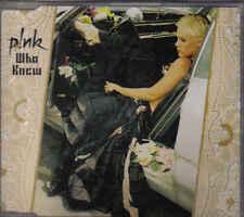 Pink-Whu Knew Promo cd single