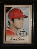 2019 Topps Gallery Preview Shohei Ohtani #GP-SO National Baseball Card Day SP