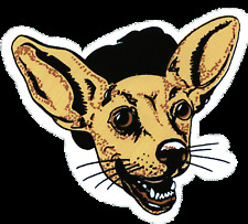 11082 Chihuahua Cut Out Puppy Dog Hat Logo Doggy Cute Pet Animal Sticker / Decal