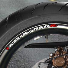 Suzuki Sv R 650 Rueda Llanta Stickers Calcomanías Svr B