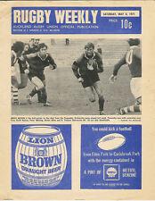 Auckland rugby hebdomadaire 8 Mai 1971 Nouvelle-Zélande MAG / prog enseignants o...