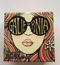 BENEFIT GALifornia 5.0 g Net wt. 0.17 oz. sunny golden pink blusher