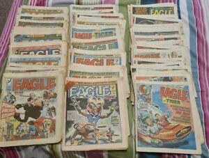Massive bundle Eagle 1980's comics x 145