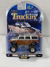 1 Badd Ride Truckin' Hummer H2 4x4 Copper & Silver