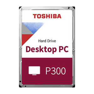 HDD Interne Festplatte Toshiba P300 3.5 Zoll 6Gb/s Sata 3 - 1 bis 6 TB