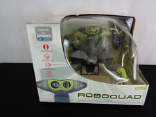 New Wowwee RoboQuad Rare Grey/Green Remote Control Robot (OAR8-511)
