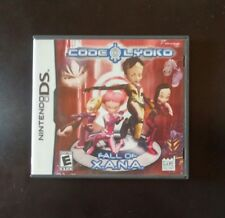 Code lyoko Fall of Xana Nintendo ds Rare video game Cib almost mint tested works
