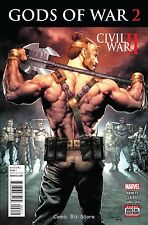 CIVIL WAR II  GODS OF WAR #2 (2016) 1ST PRINTING