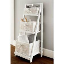 Stylish Juliet 3 Drawer Ladder Shelf Wicker Basket Decorative Storage Your Home