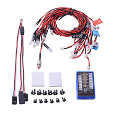 12 LED Kit de sistema lámpara luz intermitente para RC 1:10 Scale Camión coches