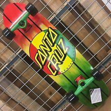 NEW Santa Cruz Rasta Dot Jammer Mid Cruzer Complete Skateboard - 9.22in x 33.0in