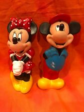 Walt Disney Mickey Mouse and Minnie Mouse PVC Figures 6 INCH
