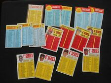 1962 1963 1966 1967 1969 Vintage Topps CL Baseball Card Lot 17 Mays 6th UNMARKED